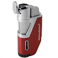 Зажигалка фирмы Ronson (Red) Space Jet Flame ZR130052, фото 1