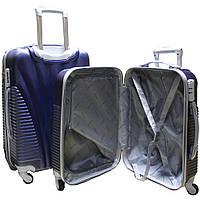 Пластиковый удобный чемодан на колёсиках двойка ручная кладь. SP510413, фото 1