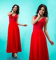 Вечернее платье со стразами 4 цвета