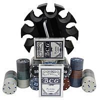 Покерный набор на 300 фишек и карты, на подарок. PN62011