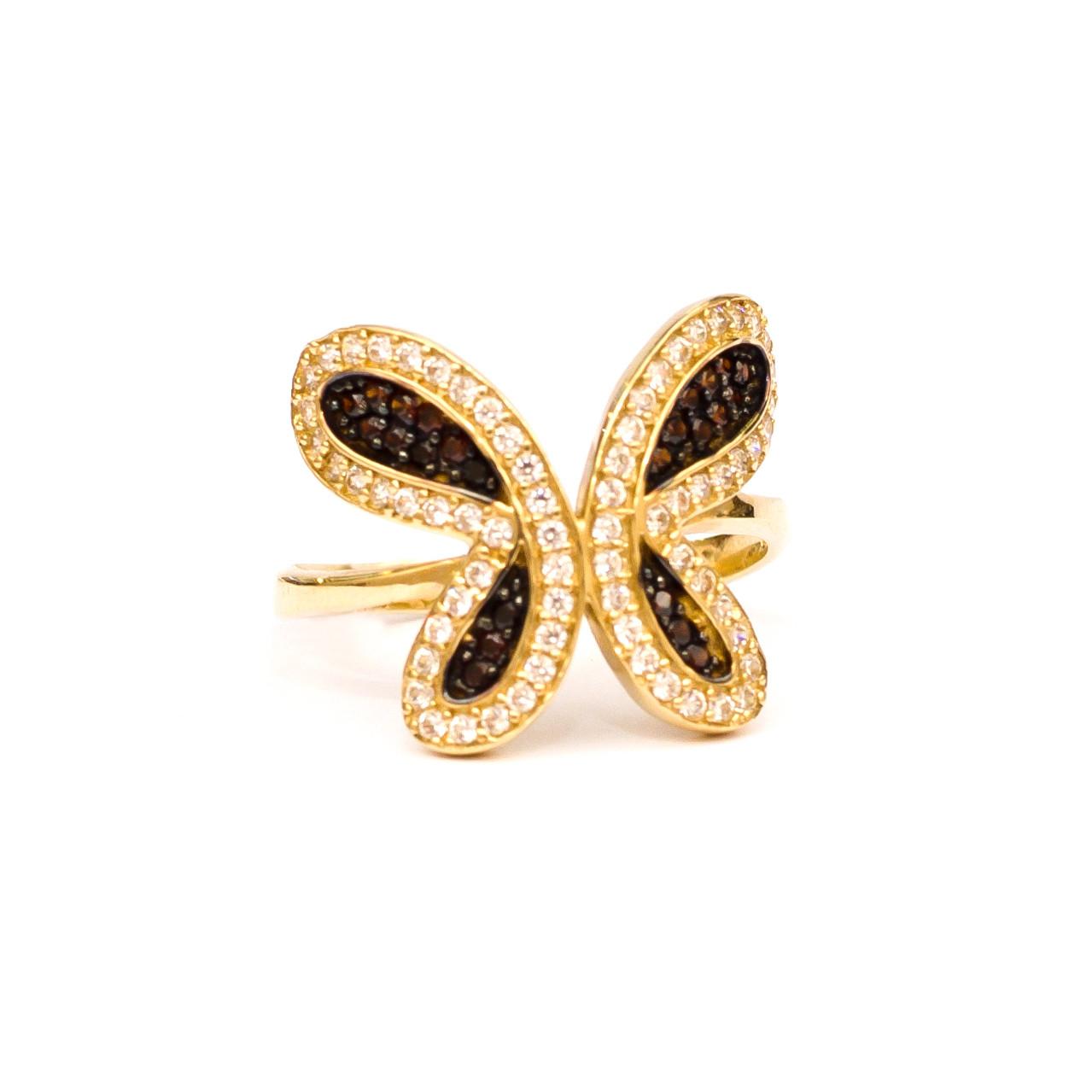Золотое кольцо Бабочка