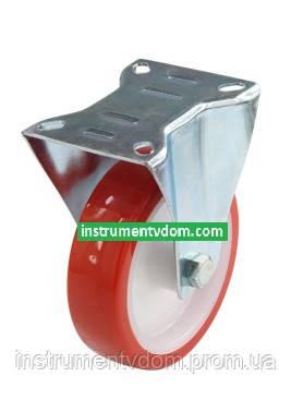 Колесо 310125 №1 с неповоротным кронштейном (диаметр 125 мм)
