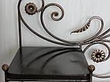 Банкетка кованая с полками (арт. 05-150-01), фото 3