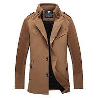 Мужское демисезонное пальто. Модель 718, фото 3