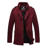 Мужское демисезонное пальто. Модель 718, фото 4