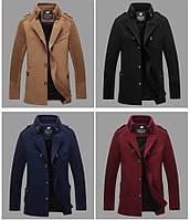 Мужское демисезонное пальто. Модель 718, фото 5
