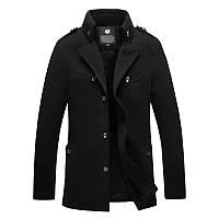 Мужское демисезонное пальто. Модель 718, фото 1