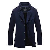 Мужское демисезонное пальто. Модель 718, фото 2