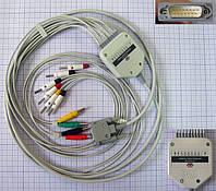 Кабель ЭКГ для электрокардиографов, кабель пациента