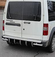 Защита заднего бампера на Ford Connect (2001-2013)