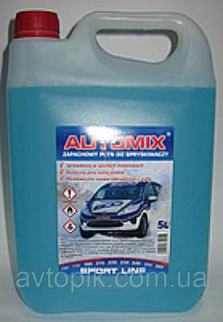 Жидкость для омывания стекол зимняя -20° Automix 5л (синий) V-30541