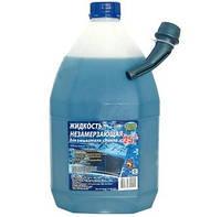 Жидкость для омывания стекол зимняя -20° Plax 5л с лейкой