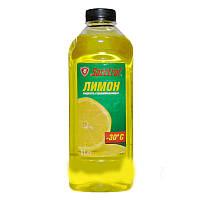 Жидкость для омывания стекол зимняя -25° Тайга 1л лимон