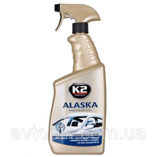 Жидкость для размораживания стекол K2 Alaska 700мл тригер (К-607) V-30744