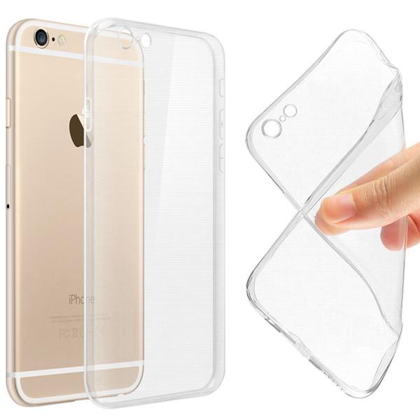 Силиконовый чехол Ultra-thin на IPhone 6/6s Clean Grid Transparent