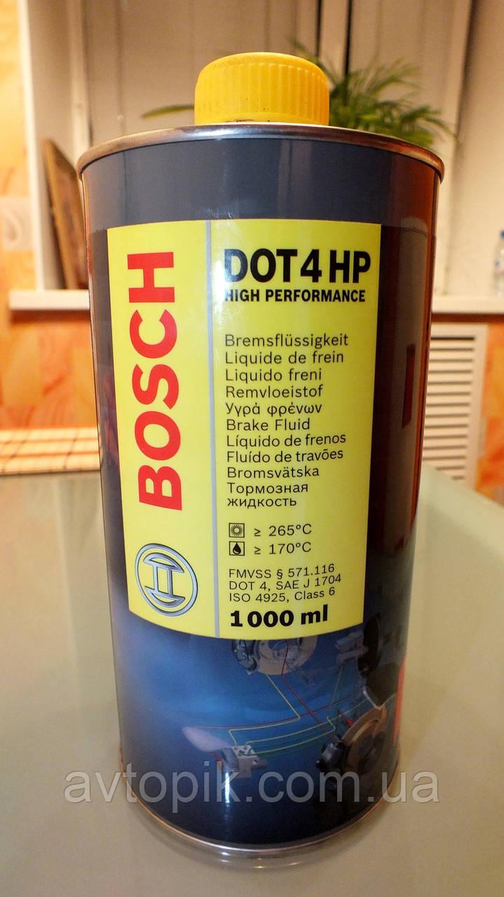bosch Жидкость тормозная Bosch Dot-4 1.0л (1 987 479 002 (107)) V-22159