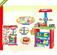 Игровой набор детский Магазин-супермаркет с корзинкой 661-79