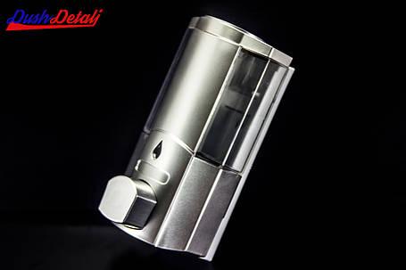 Дозатор для мыла одинарный, настенный ( Д01) Диспенсер хромированный., фото 2