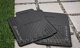 Коврики в салон Lexus GX460  2010-2013  Новые Оригинал