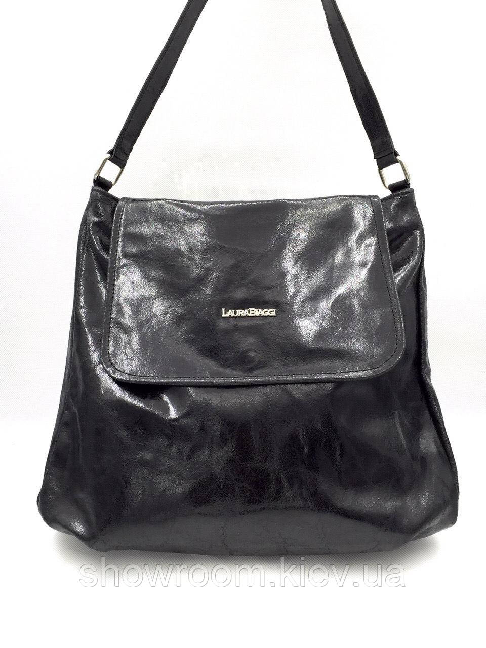 Женская сумка Laura Biaggi (1129 black) leather