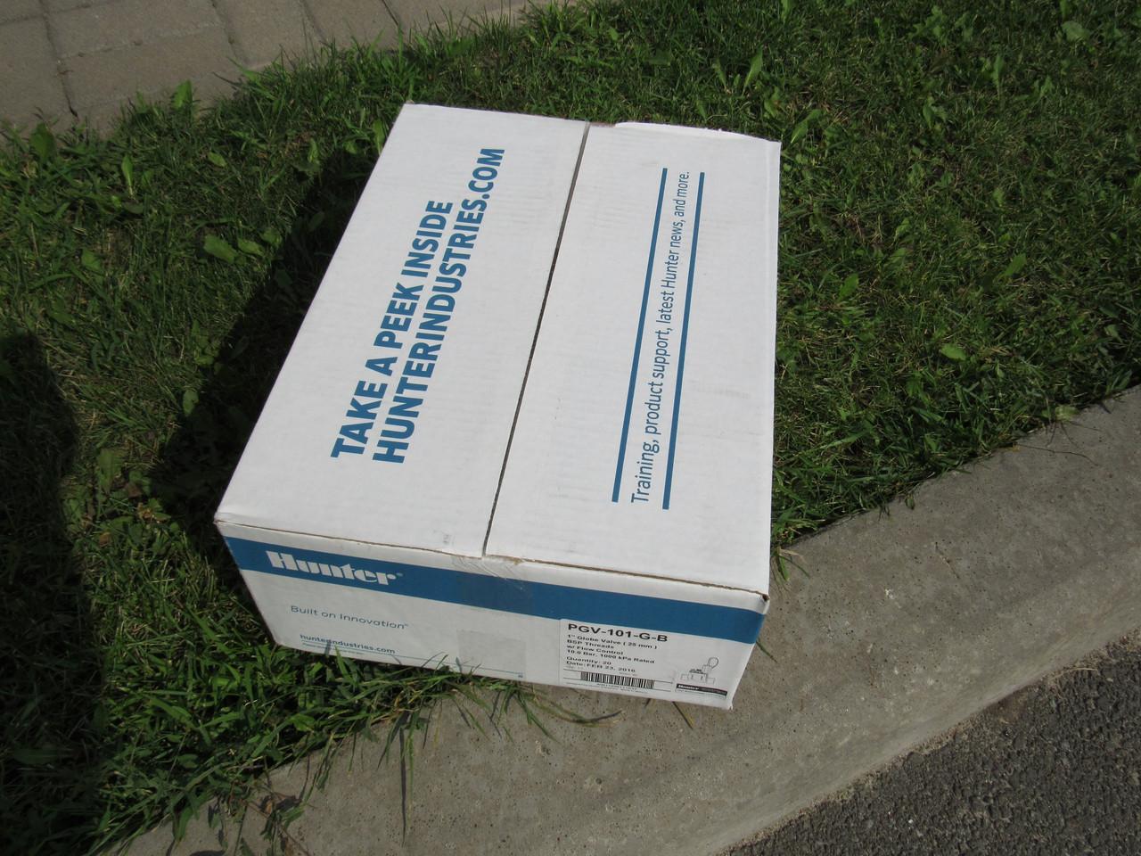 Электро-магнитный клапан Hunter PGV 101 gb коробка 20 штук