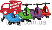 Детская машинка Bibicar (Бибикар) smart carпластиковые колеса, фото 1