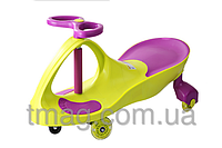 Детская машинка Bibicar (Бибикар) smart car, полиуретановые колеса Салатовый