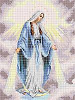 """Вишивка бсером """"Непорочне зачаття Діви Марії"""""""