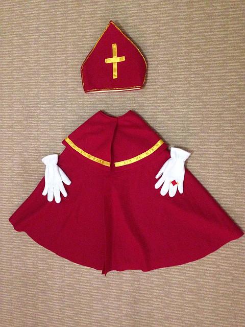 Шапка святого миколая своими руками