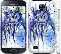 "Чехол на Samsung Galaxy S4 mini Duos GT i9192 Филин ""3050c-63"""