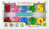 Flexcils Набор Flexcils Цифры-карандаши + стирательная резинка