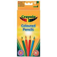 Crayola Набор Crayola 12 цветных карандашей (3612)