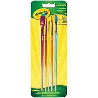 Crayola Набор Crayola 5 кисточек для рисования красками (3007)