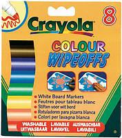 Crayola Набор Crayola Стирающиеся фломастеры для рисования на доске (8223)