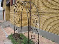 Кованая арка,пергола.