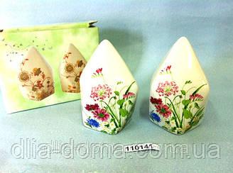 Набір для спецій Білий Рослини, квіти