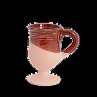 Бокал глиняный Gloss CF17 Покутская керамика  0,15 литра