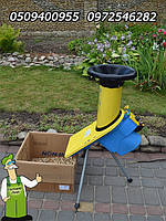 Дробилка электрическая садовая Глория б/у,  1400 Вт, измельчитель веток для вашего сада из Германии