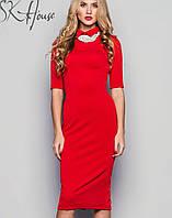 Платье с воротником | RICCI sk