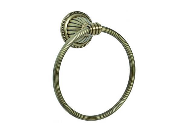 Кольцо для полотенца KUGU Hestia antique 904A, фото 2