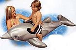 Intex 58535 Дельфин 175 х 66 см надувной плот, фото 5