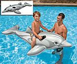 Intex 58535 Дельфин 175 х 66 см надувной плот, фото 4