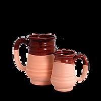 Пивная кружка глиняная Gloss CF18 Покутская керамика