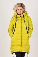 Куртка(парка) женская без меха с вышивкой на спине T.Y Camille №517