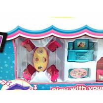 Домик для кукол с фигурками и мебелью арт.1205АВ, фото 3