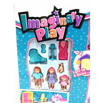 Домик для кукол с фигурками и мебелью арт.1205АВ, фото 2
