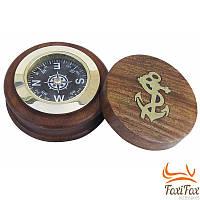 Подарочный компас деревянный Sea Club