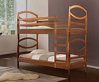 Кровать двухъярусная Виктория массив ольха