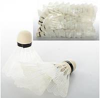 Воланчик MS 0350 белый пластик