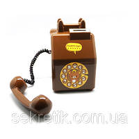 """Копилка """"Телефон"""" (коричневый)"""